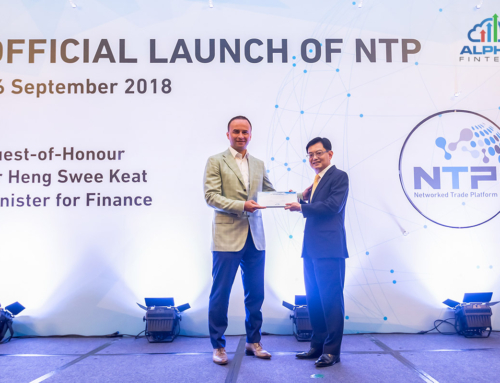 Alpha Fintech Joins Launch of Singapore's Networked Trade Platform (NTP)